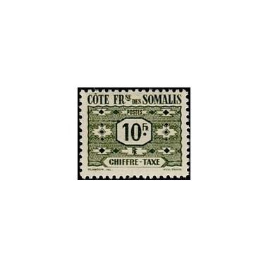 Cote des Somalis N° TA 052 N *