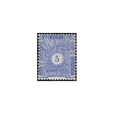 Cote des Somalis N° TA 001 Obli