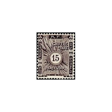 Cote des Somalis N° TA 003 Obli