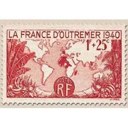 FR N° 0453 Neuf avec trace de charni