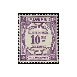 ALGERIE Taxe N° 16 N *