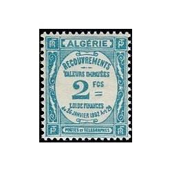 ALGERIE Taxe N° 20 N *