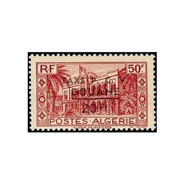 ALGERIE Taxe N° 27 N *