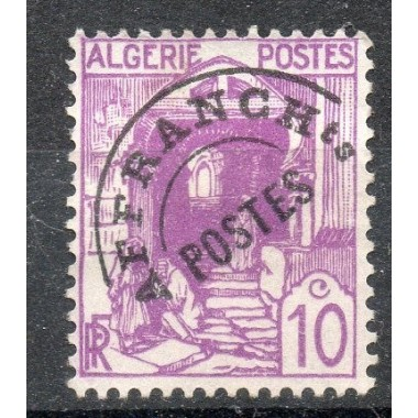Algerie PrŽo N° 009 N*