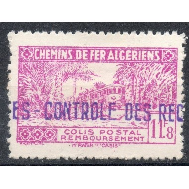 Algerie Col Post N° 155 N*