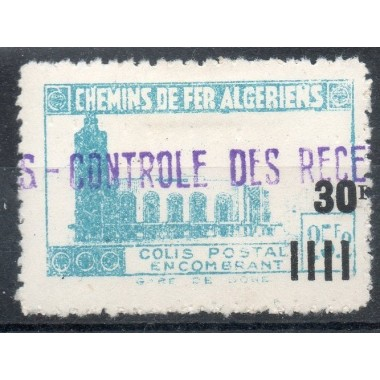 Algerie Col Post N° 166 N*