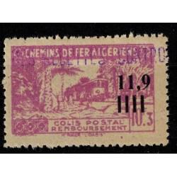 Algerie Col Post N° 0141 Neuf *