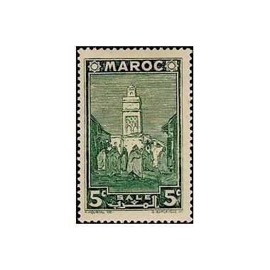 MAROC N° 166 N **