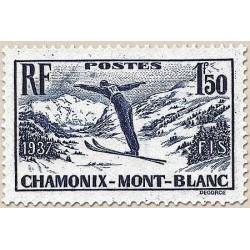 FR N° 0334 Neuf avec trace de charni