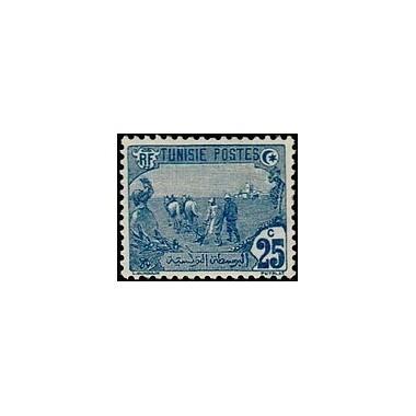 Tunisie N° 035 Obli