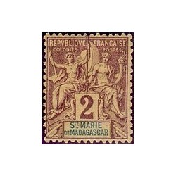ST Marie de Madagascar N° 002 N *