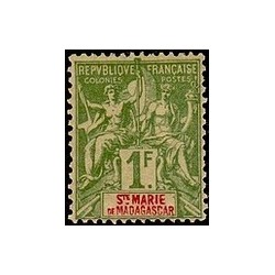 ST Marie de Madagascar N° 013 N *