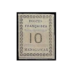 Madagascar N° 009 N *