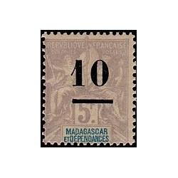 Madagascar N° 049 Obli