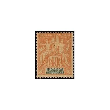 Madagascar N° 037 Obli