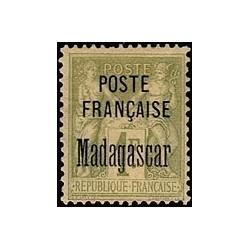 Madagascar N° 021 Obli
