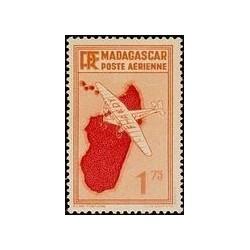 Madagascar N° PA 004 Obli