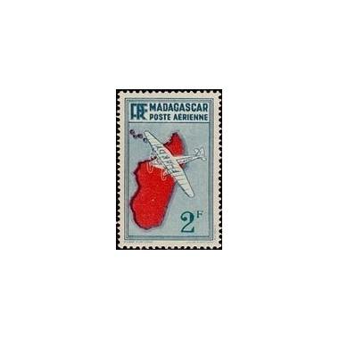 Madagascar N° PA 005 Obli