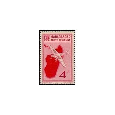 Madagascar N° PA 006 Obli