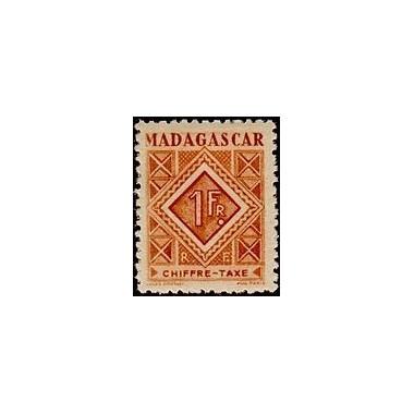 Madagascar N° TA 034 N *