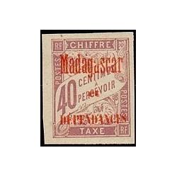 Madagascar N° TA 005 Obli