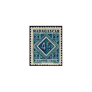 Madagascar N° TA 037 N **