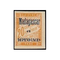 Madagascar N° TA 003 Obli