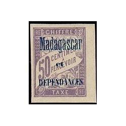 Madagascar N° TA 006 Obli