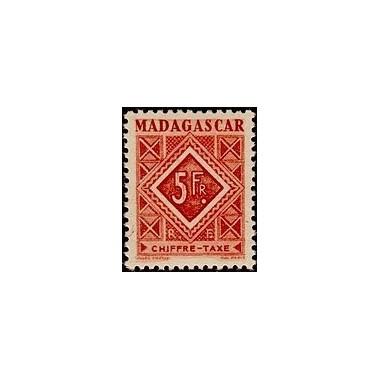 Madagascar N° TA 038 N **