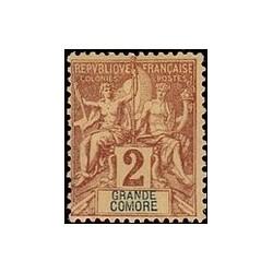 Grand-Comore N° 002 N *