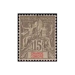 Grand-Comore N° 015 N *