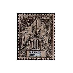 Grand-Comore N° 005 Obli