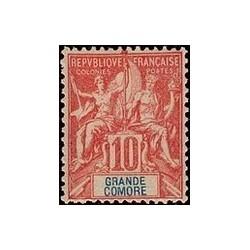 Grand-Comore N° 014 Obli