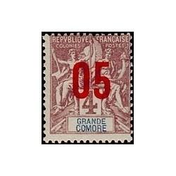 Grand-Comore N° 021 Obli