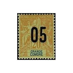 Grand-Comore N° 023 Obli