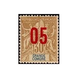 Grand-Comore N° 025 Obli