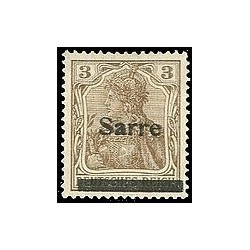 Sarre N° 003 N *