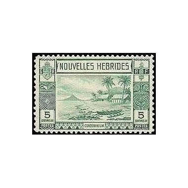 Nouvelles Hebrides N° 100 N**