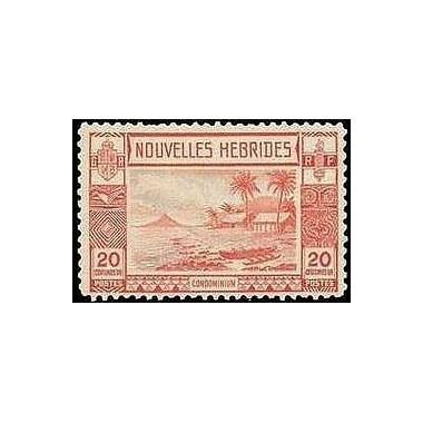 Nouvelles Hebrides N° 103 N**