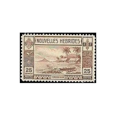 Nouvelles Hebrides N° 104 N**