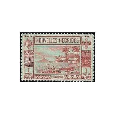 Nouvelles Hebrides N° 108 N**