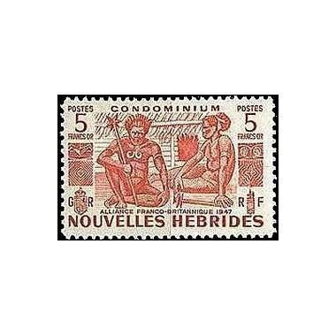 Nouvelles Hebrides N° 154 N**