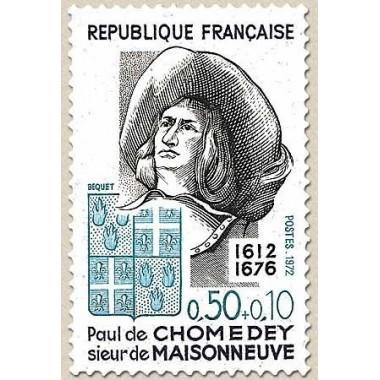 FR N° 1706 Neuf avec trace de charni