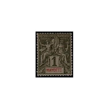 Mayotte N° 001 Neuf *