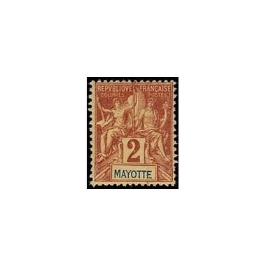 Mayotte N° 002 Neuf *