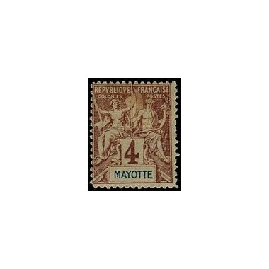 Mayotte N° 003 Neuf *
