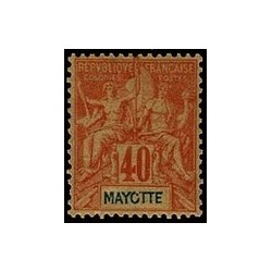 Mayotte N° 010 Neuf *