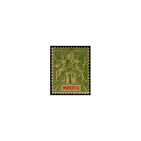 Mayotte N° 013 Neuf *