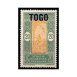 Togo N° 107 Obli