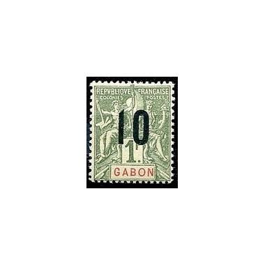 Gabon N° 076 N **